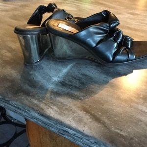 Stella McCartney Black Sandals Euro 38 NWOT